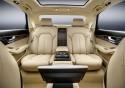 Audi A8 L extended, tylne fotele, wnętrze