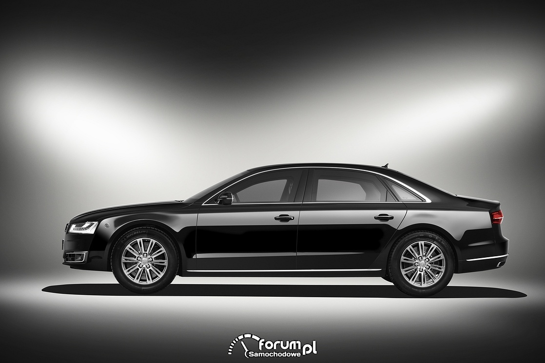 Audi A8 L Security, bok