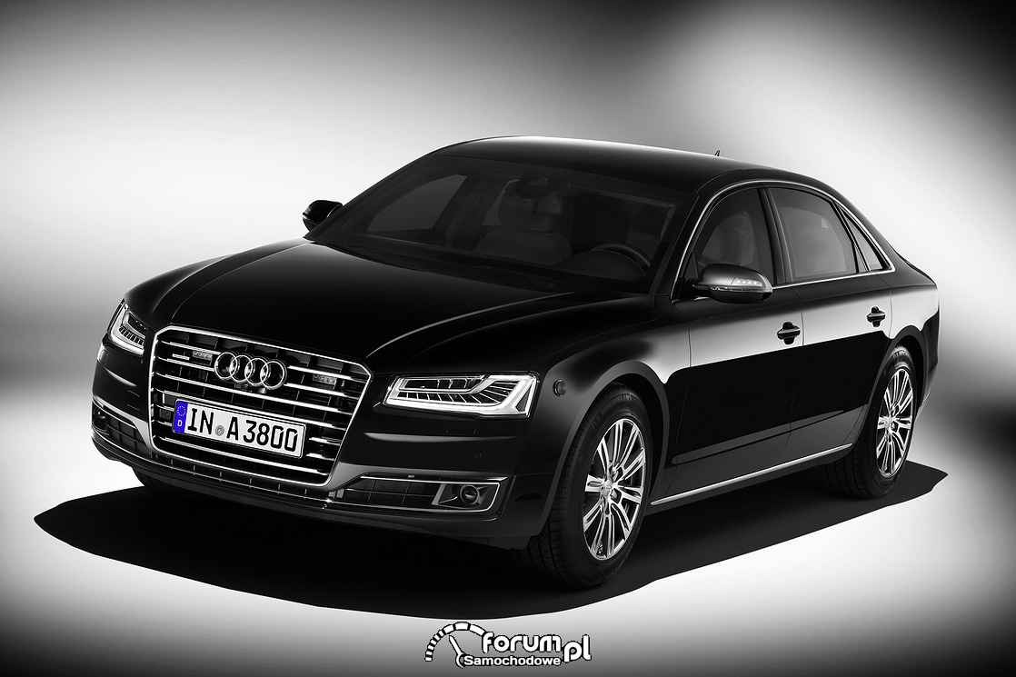 Audi A8 L Security, przód
