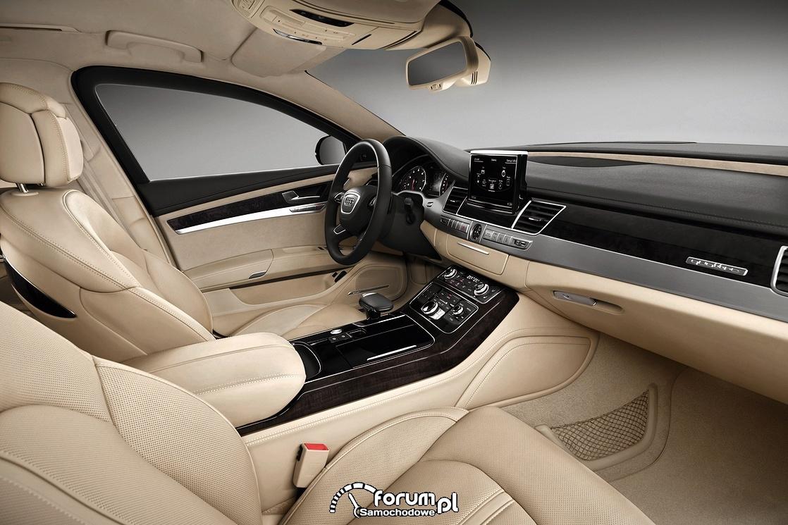 Audi A8 L Security, wnętrze
