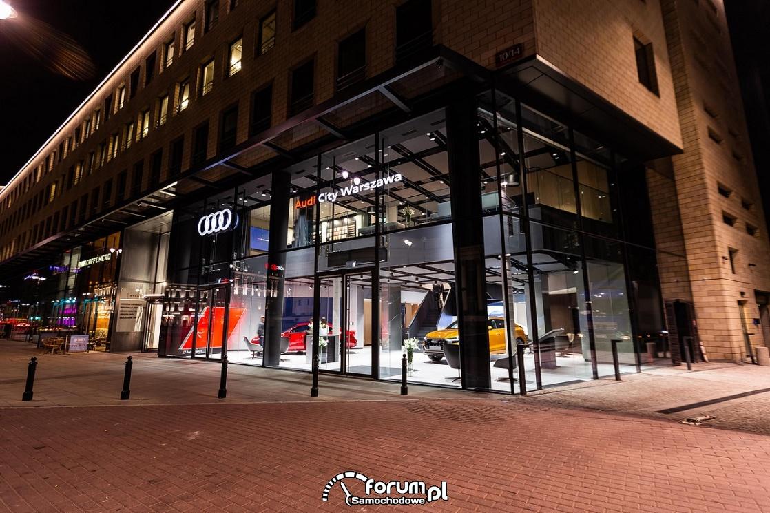 Audi City Warszawa, wirtualny salon