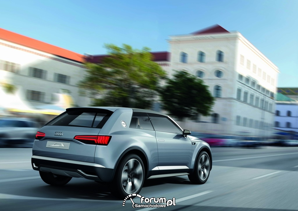 Audi crosslane coupe, 2
