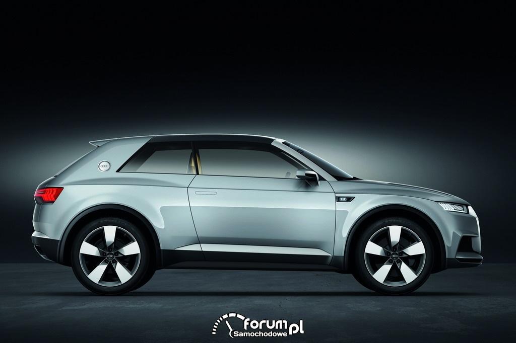 Audi crosslane coupe, bok
