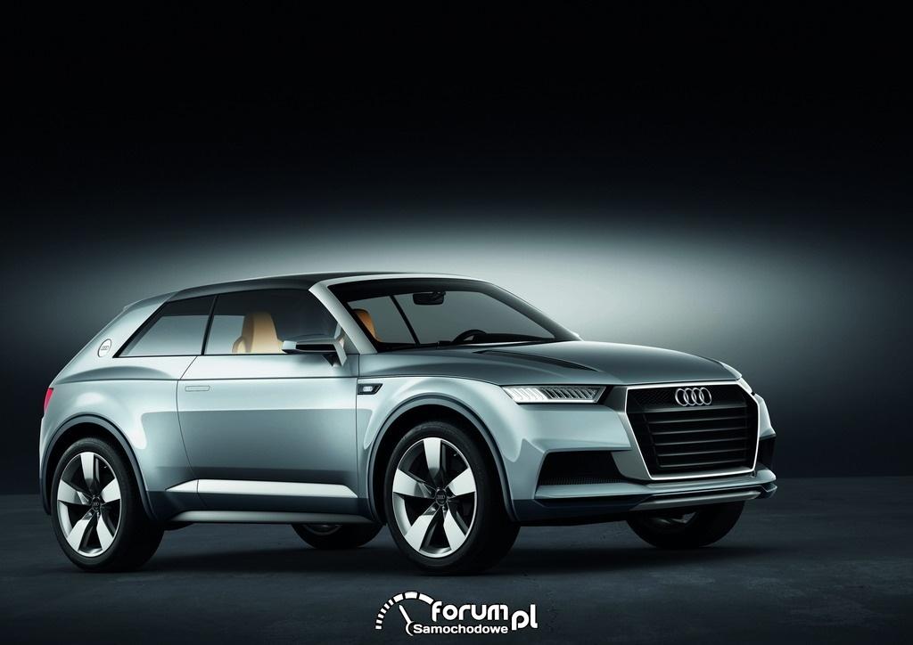 Audi crosslane coupe, przód