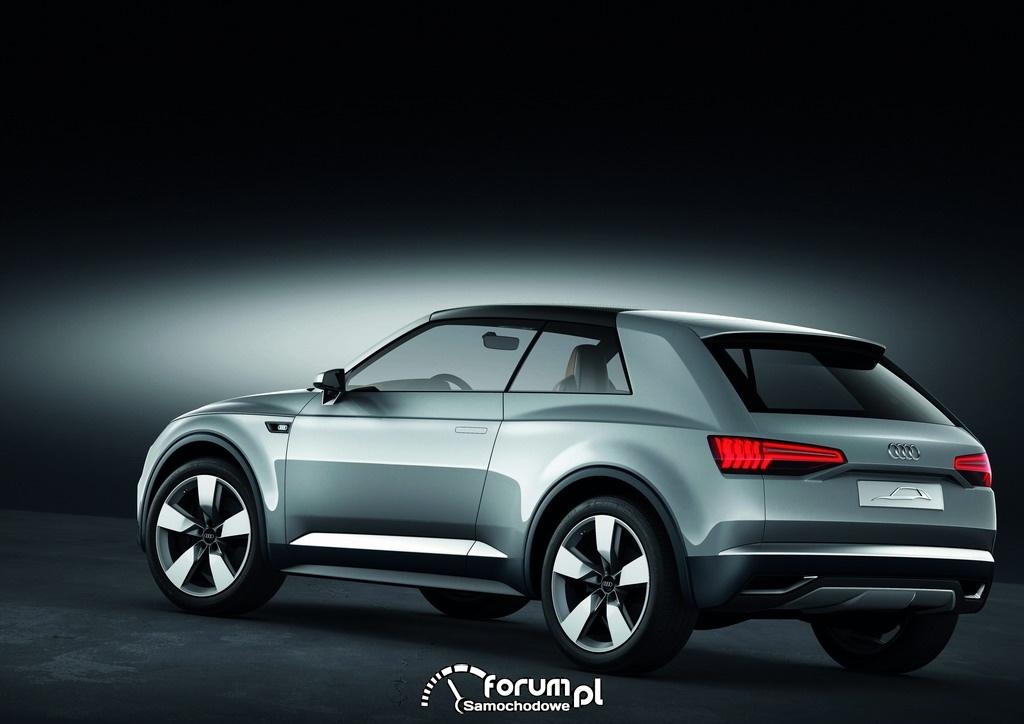 Audi crosslane coupe, tył