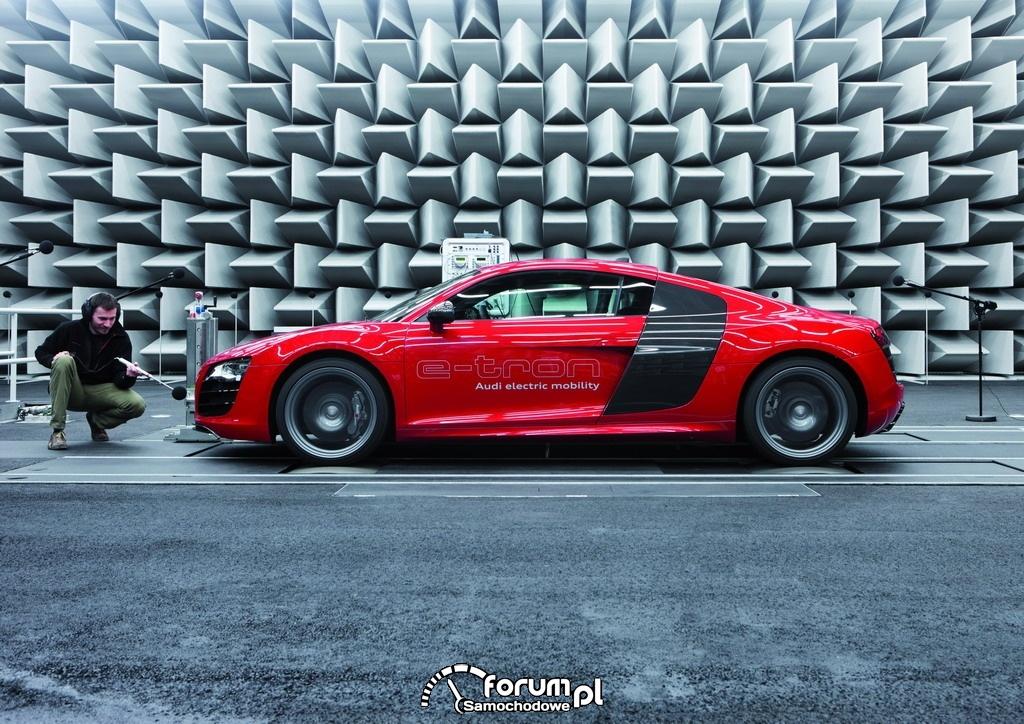 Audi e-sound - Audi R8 e-tron, 2