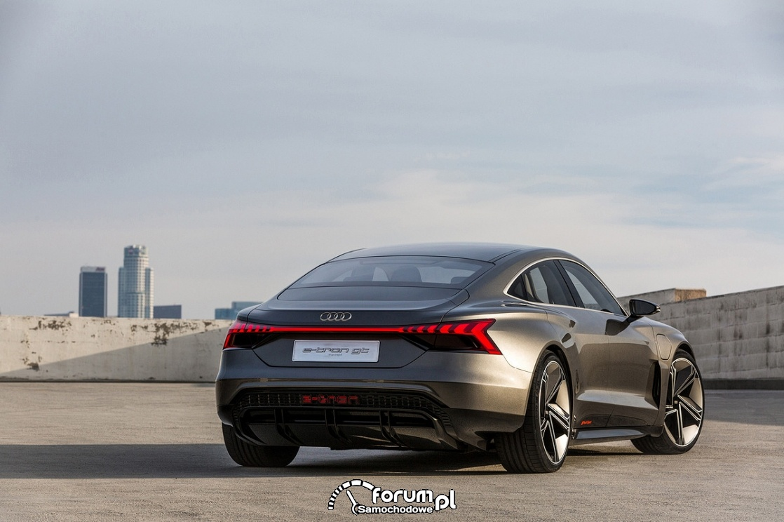 Audi e-tron GT concept, tył