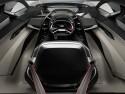 Audi PB18 e-tron, widok całego wnętrza