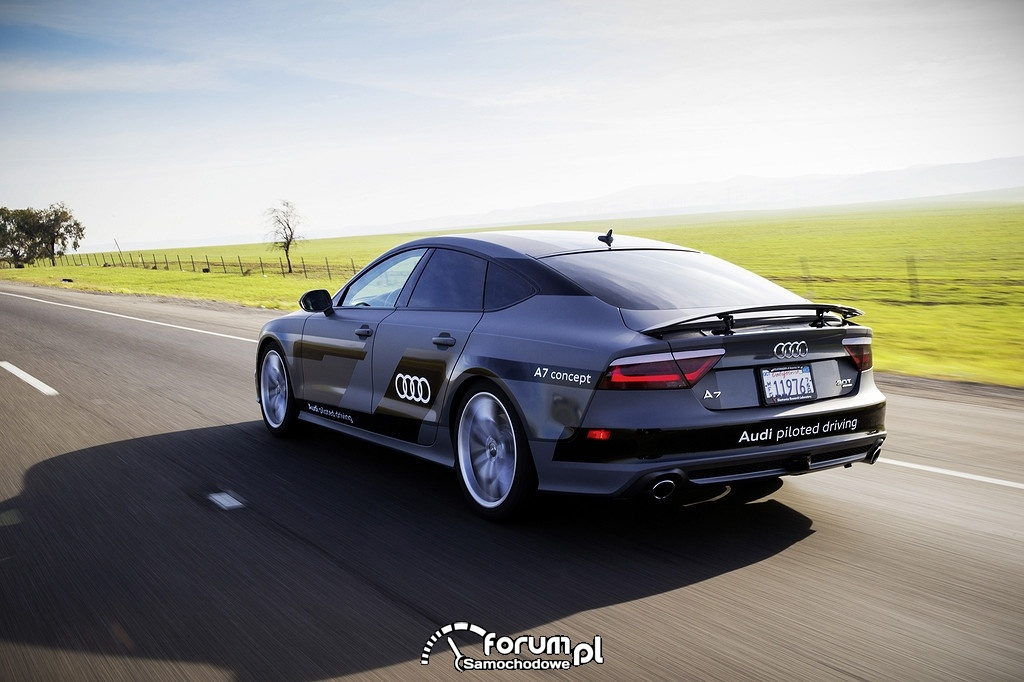 Audi piloted driving, Audi A7 concept