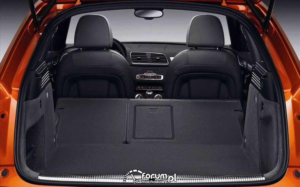 Audi Q1 Compact SUV - bagażnik