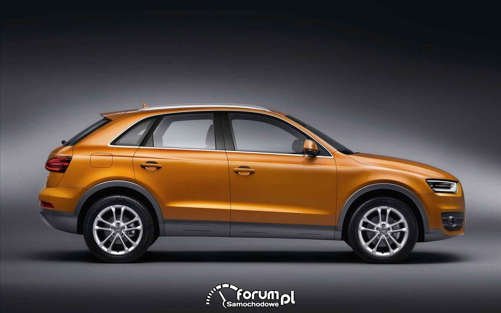 Audi Q1 Compact SUV - widok z boku