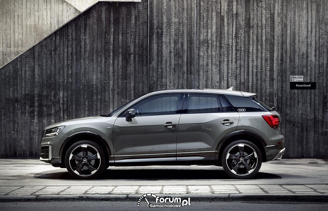 Audi Q2, bok