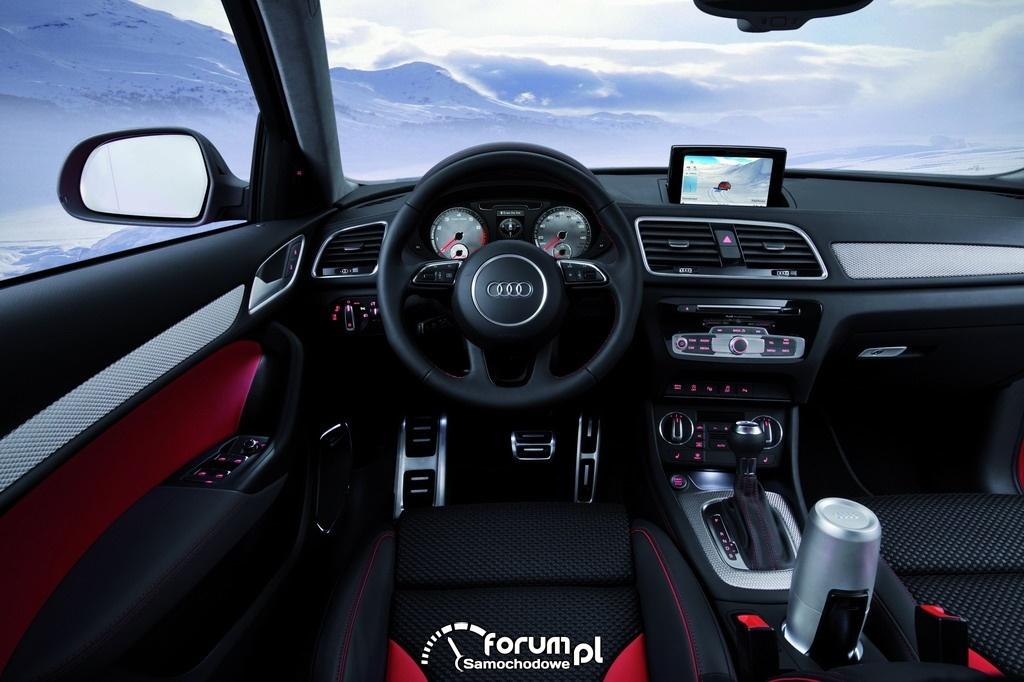 Audi Q3 Vail - wnętrze