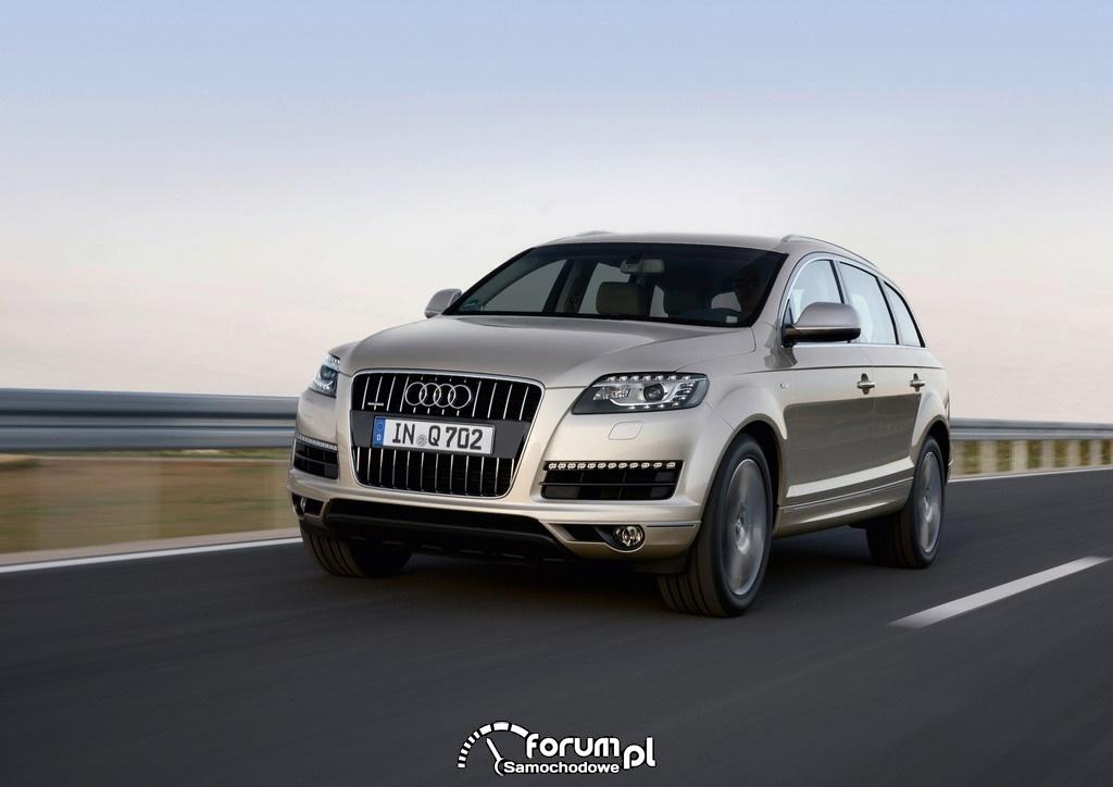 Audi Q7 2013, duży SUV