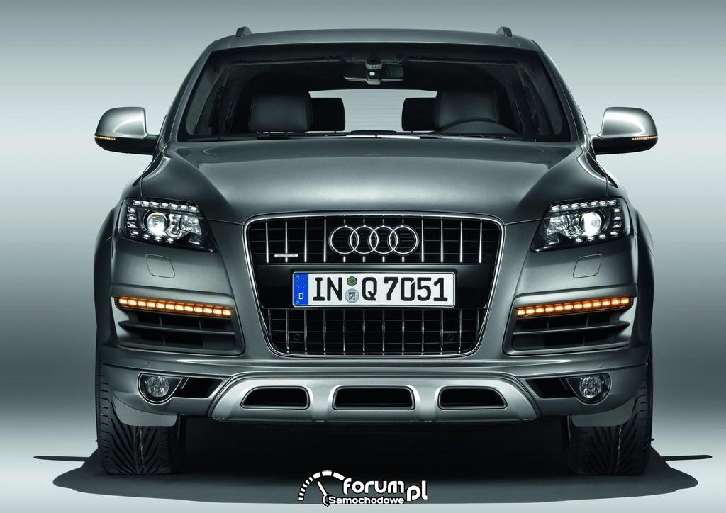 Audi Q7 4.2 TDI, z przodu