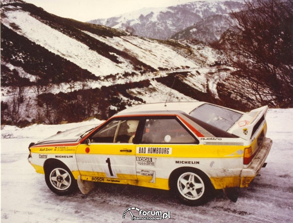 Audi Quattro A2 (1984)