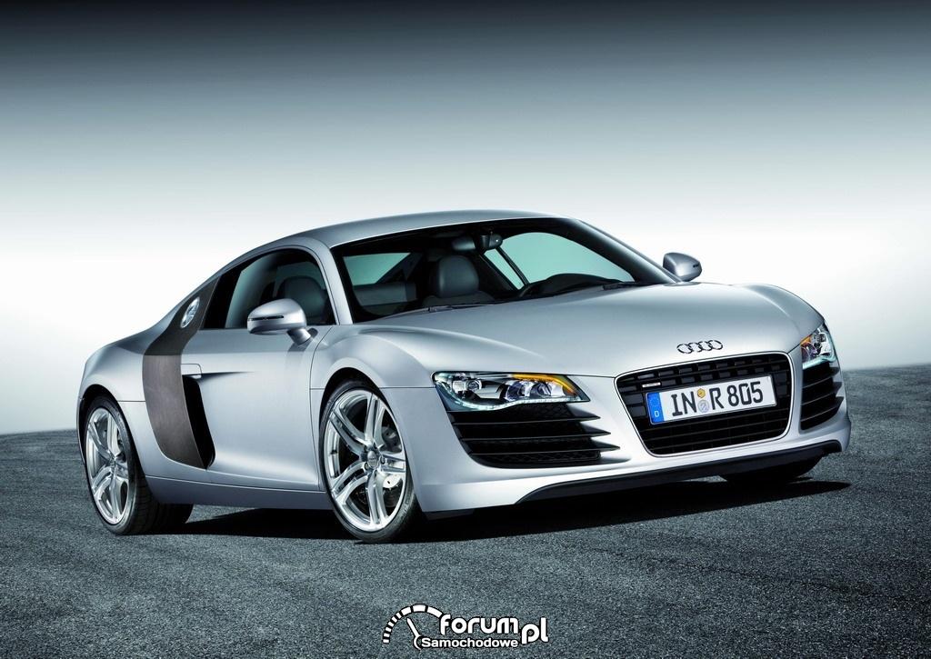 Audi R8 - diodowe reflektory