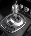 Audi R8, dźwignia zmiany biegów