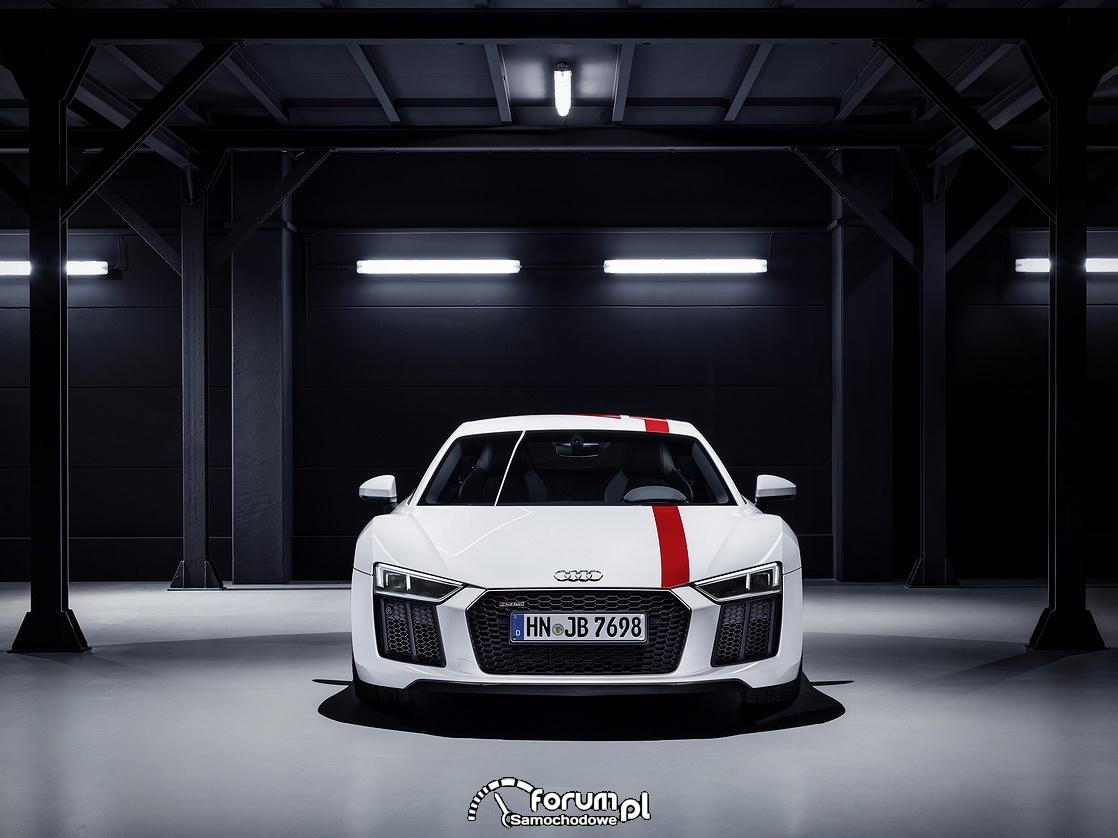 Audi R8 V10 RWS, przód