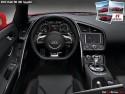 Audi R8 V10 Spyder, wnętrze