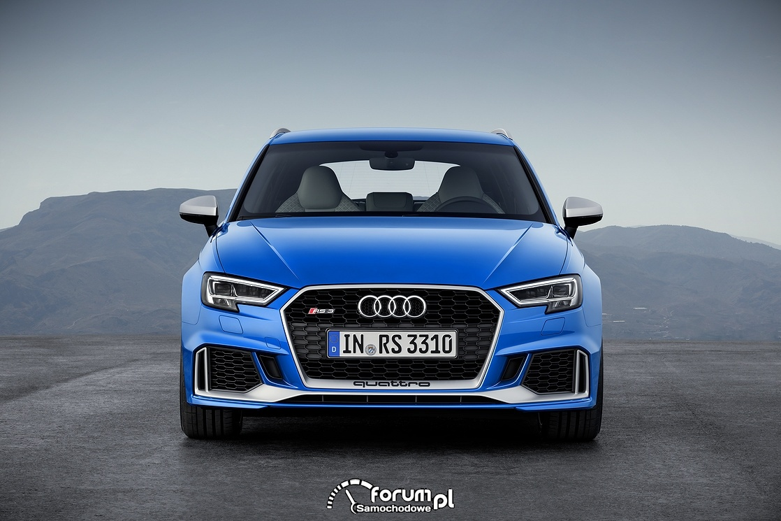 Audi RS 3 Sportback, przód