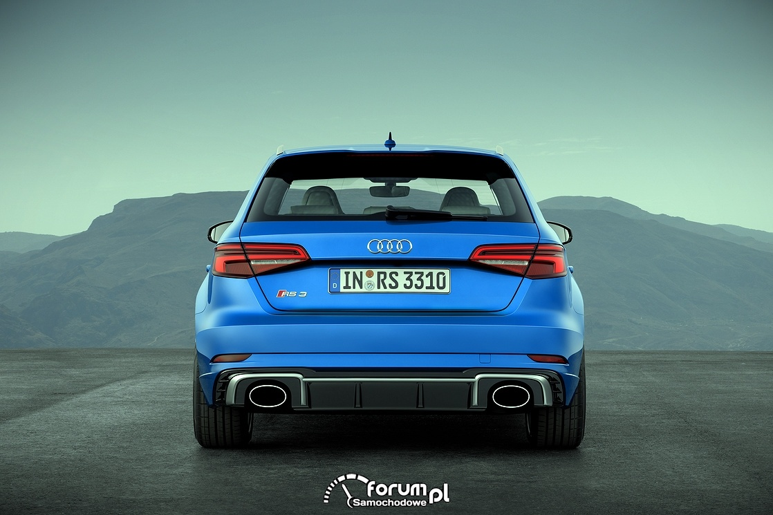 Audi RS 3 Sportback, tył