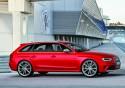 Audi RS 4 Avant, bok