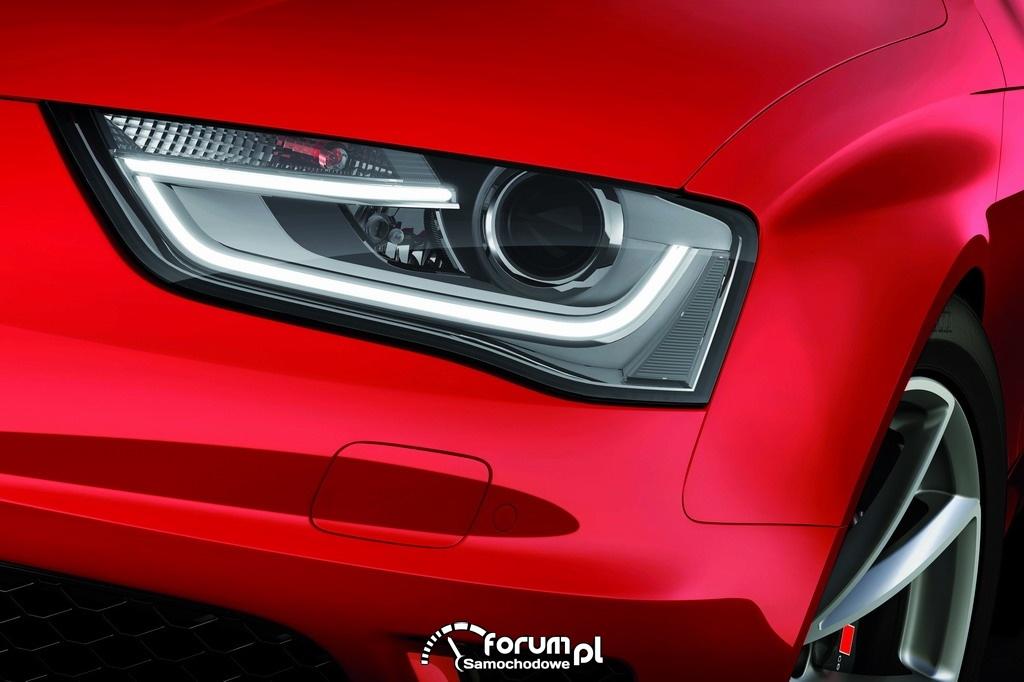 Audi RS 4 Avant, przednie światła LED