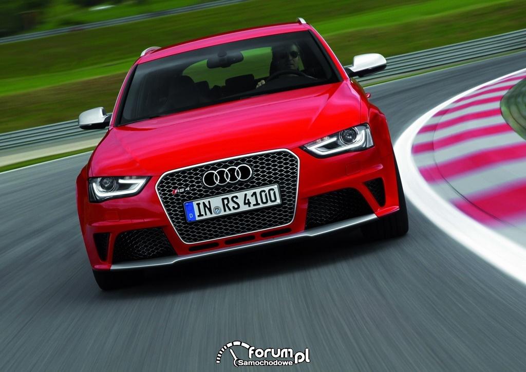 Audi RS 4 Avant, przód