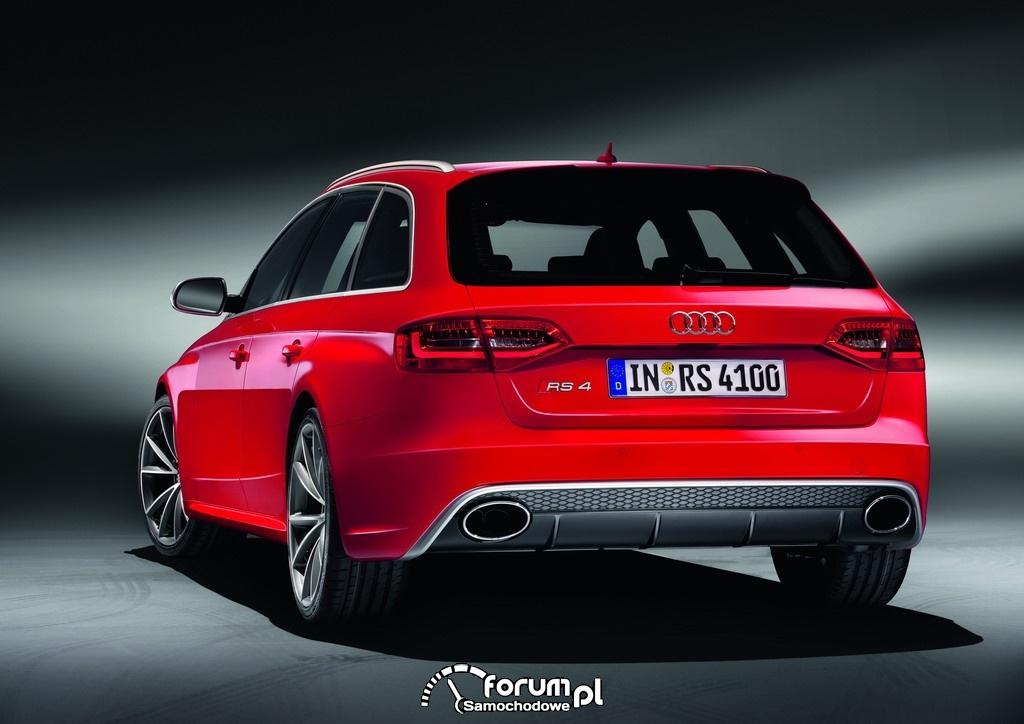 Audi RS 4 Avant - tył