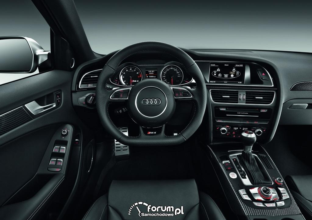 Audi RS 4 Avant - wnętrze