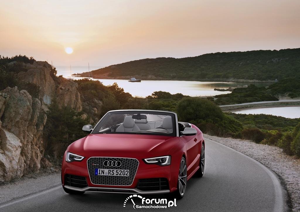 Audi RS 5 Cabriolet, przód