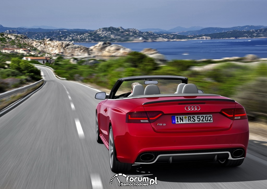 Audi RS 5 Cabriolet, tył