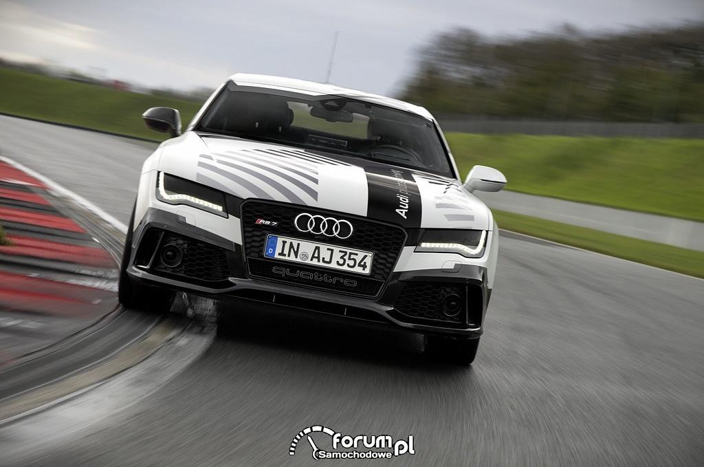 Audi RS 7 concept, piloted driving, przód