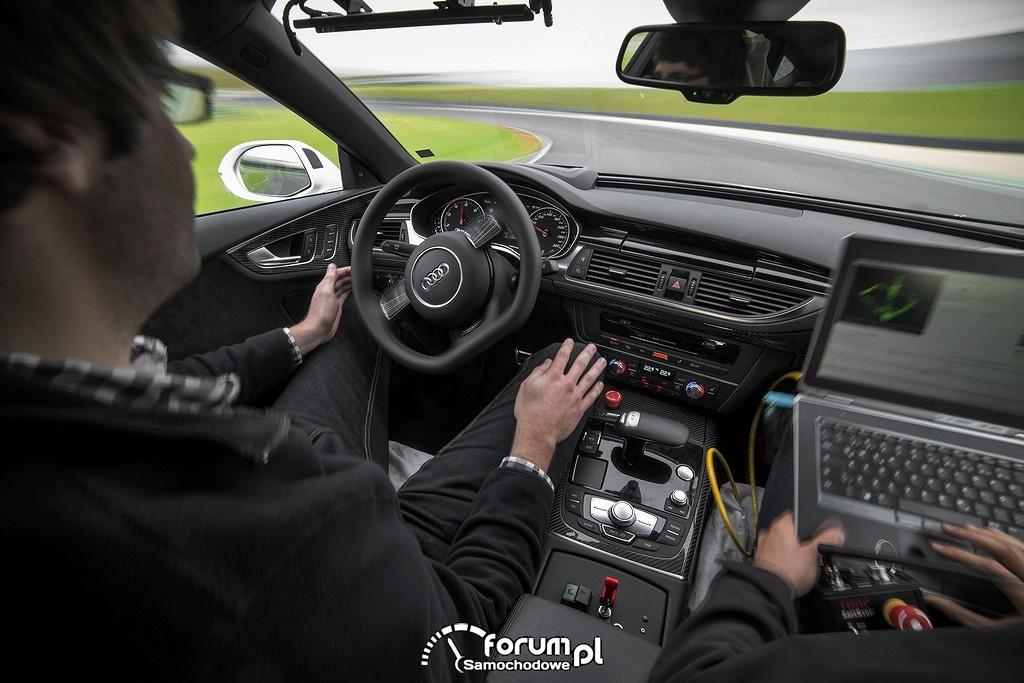 Audi RS 7 concept, piloted driving, wnętrze