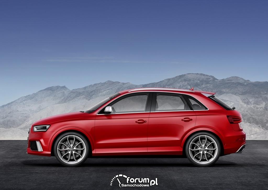 Audi RS Q3 2.5 TFSI o mocy 310KM, bok