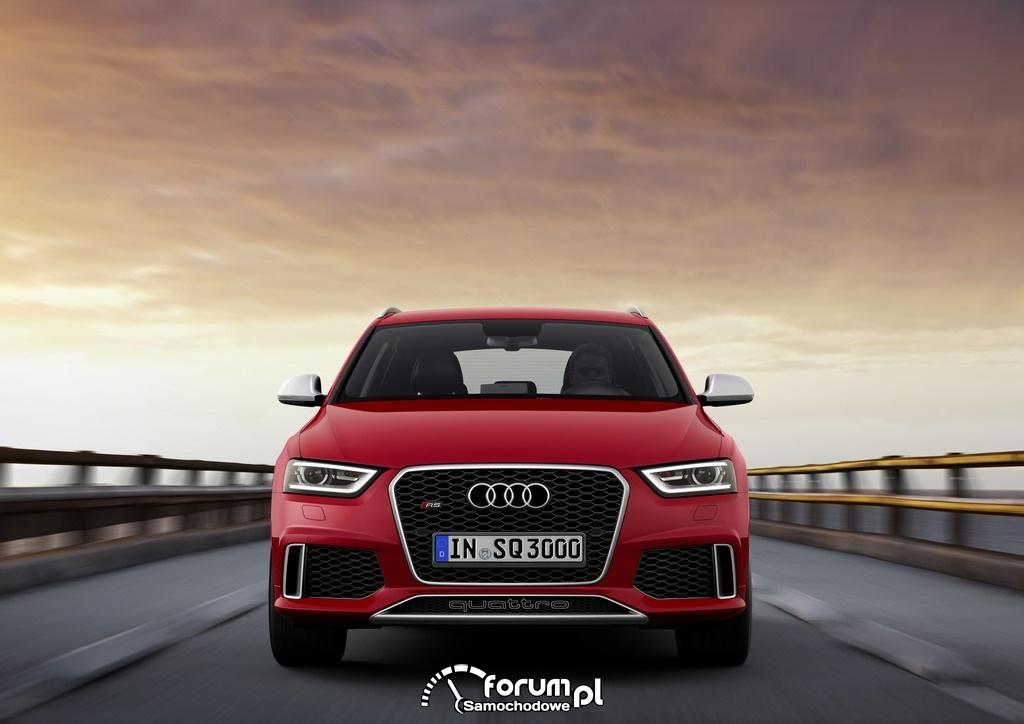 Audi RS Q3 2.5 TFSI o mocy 310KM, przód