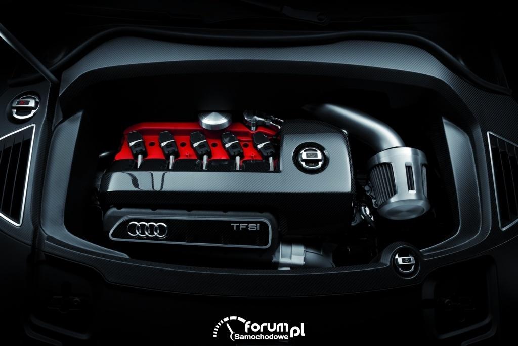 Audi RS Q3 concept, silnik