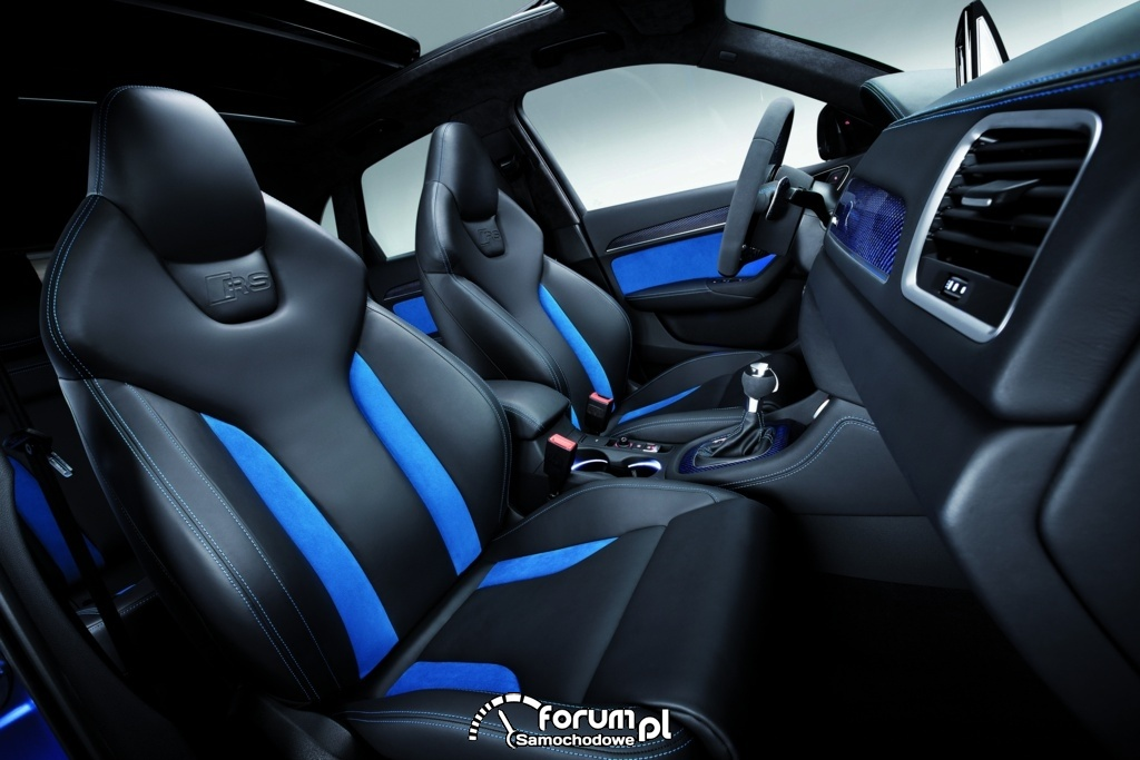 Audi RS Q3 concept, wnętrze, 2