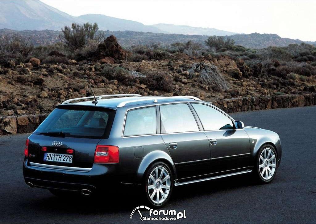 Audi RS6 C5, Avant, tył