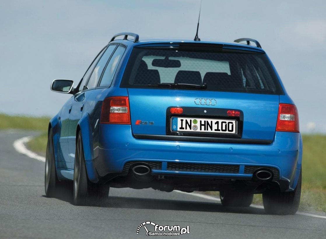 Audi RS6 C5, tył