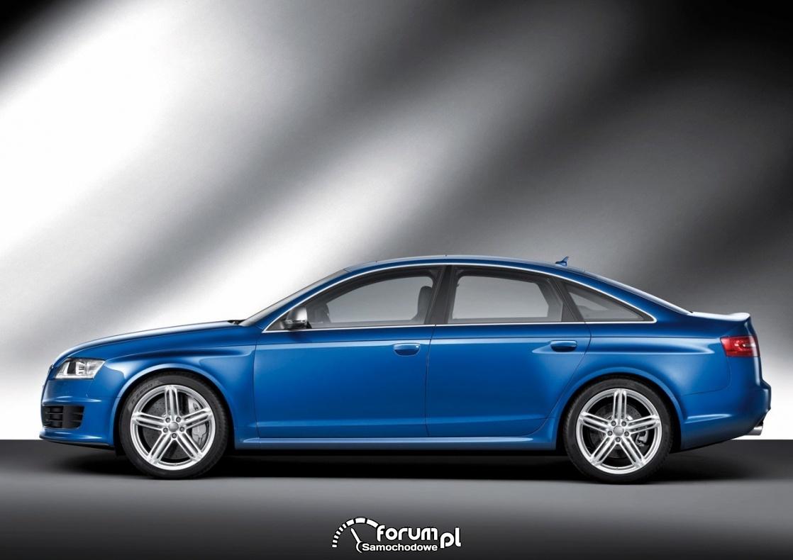 Audi RS6 C6, bok