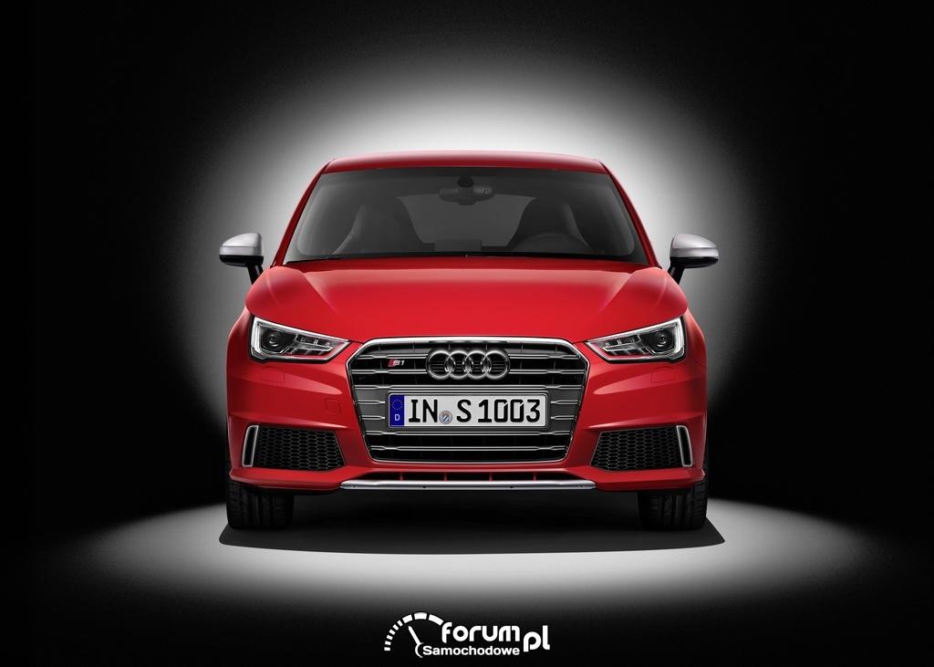 Audi S1, przód