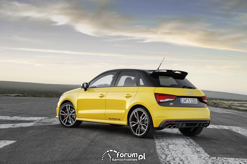 Audi S1, tył