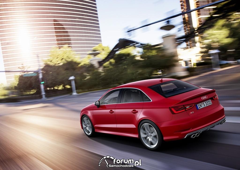 Audi S3 Limousine, tył