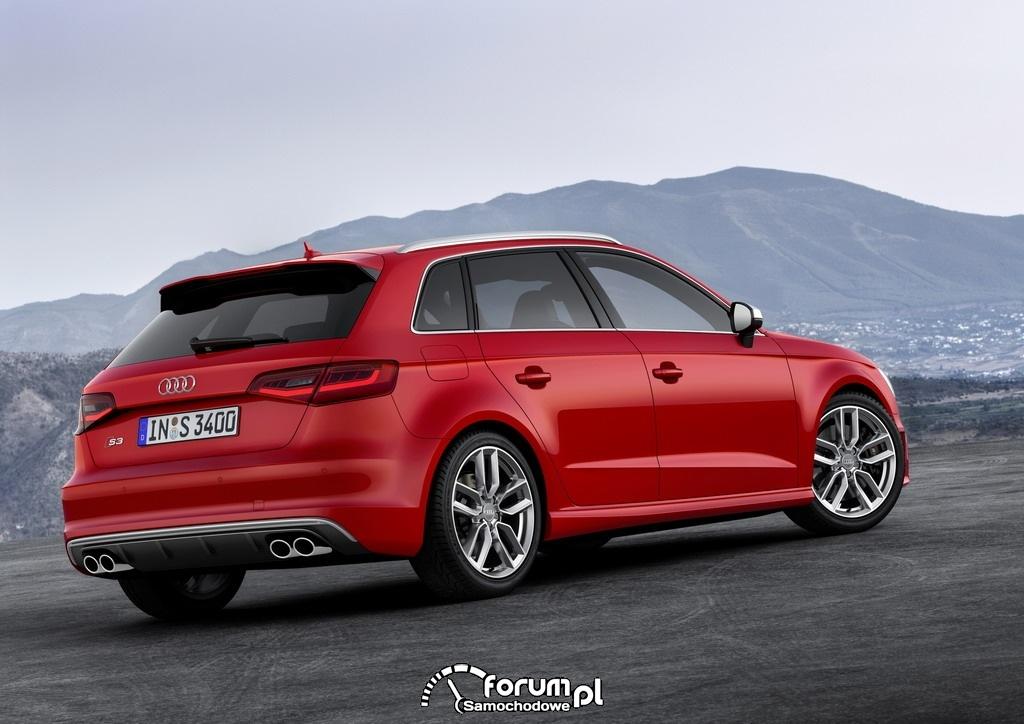 Audi S3 Sportback 2.0 TFSI o mocy 300KM, 2