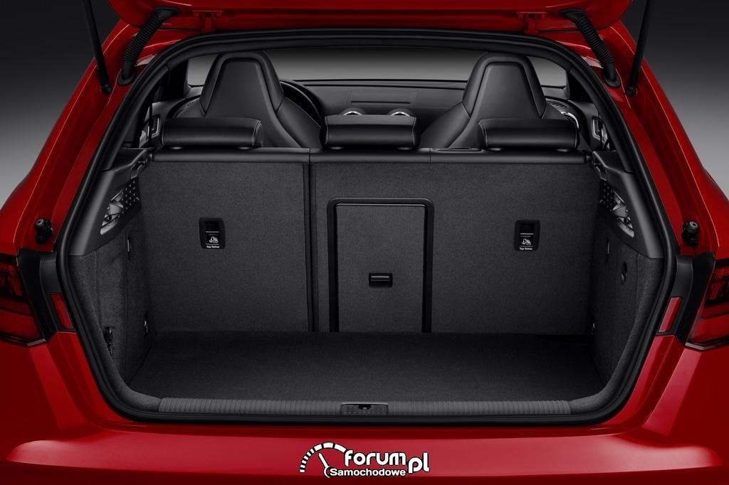 Audi S3 Sportback 2.0 TFSI o mocy 300KM, bagażnik