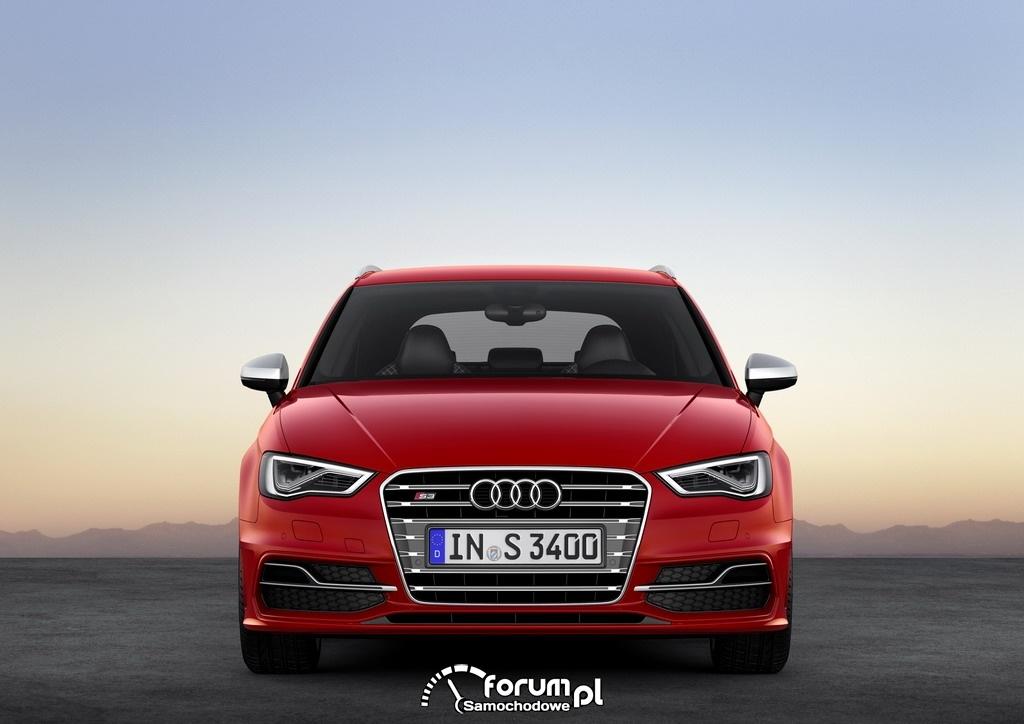Audi S3 Sportback 2.0 TFSI o mocy 300KM, przód