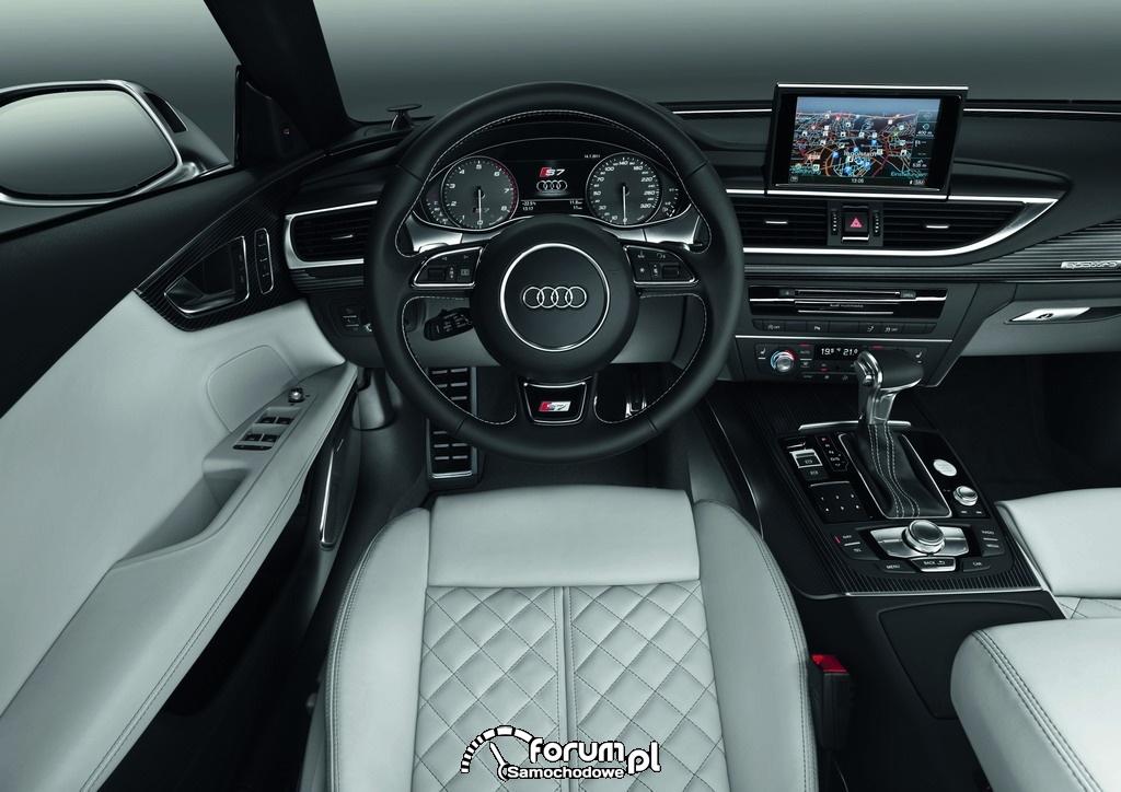 Audi S7 Sportback, wnętrze