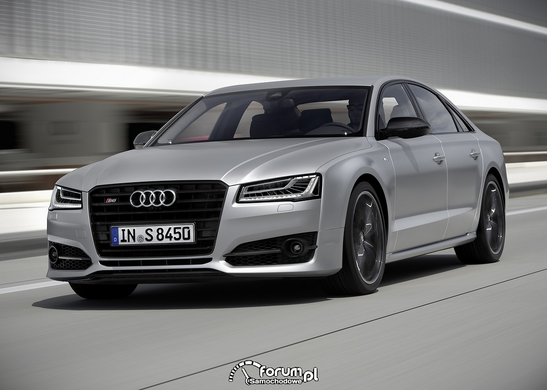 Audi S8 plus, przód